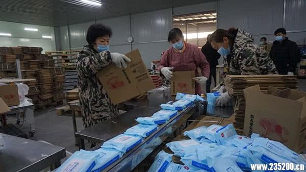 萧县65.7%的企业复工 井然有序